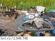 Пристанище бомжей (2011 год). Редакционное фото, фотограф Игорь Митов / Фотобанк Лори