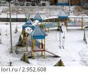 Дворик в ноябре (2010 год). Редакционное фото, фотограф Литвинова Евгения / Фотобанк Лори