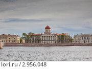 Пушкинский Дом (ИРЛИ РАН) (2011 год). Стоковое фото, фотограф Евгений Медведев / Фотобанк Лори