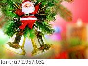 Купить «Новогодние украшения -Санта Клаус», фото № 2957032, снято 1 ноября 2009 г. (c) Vitas / Фотобанк Лори