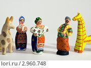 Сватовство. Игрушка-сувенир (2011 год). Редакционное фото, фотограф Владимир Вдовиченко / Фотобанк Лори