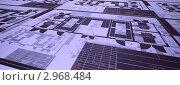 Купить «План трансформаторной подстанции», иллюстрация № 2968484 (c) Андрей Соколов / Фотобанк Лори