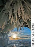 Купить «Байкал. Ледяные гроты острова Ольхон», фото № 2978088, снято 26 марта 2011 г. (c) Виктория Катьянова / Фотобанк Лори