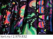 Разноцветные батики кислотных расцветок. Стоковое фото, фотограф крижевская юлия валерьевна / Фотобанк Лори