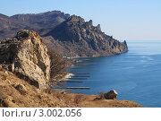Купить «Скалистые горы и море», фото № 3002056, снято 5 марта 2011 г. (c) Александр Кривых / Фотобанк Лори