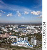 Город Нижневартовск с высоты птичьего полета (2011 год). Стоковое фото, фотограф Владимир Мельников / Фотобанк Лори