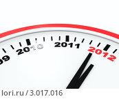 Часы нового года. Стоковое фото, фотограф Виталий / Фотобанк Лори