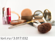 Аксессуары для макияжа. Стоковое фото, фотограф Фотиев Михаил / Фотобанк Лори