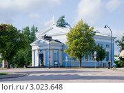 Купить «Лютеранская церковь. Хамина. Финляндия», эксклюзивное фото № 3023648, снято 11 сентября 2011 г. (c) Александр Щепин / Фотобанк Лори