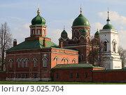 Купить «Бородино. Спасо-Бородинский женский монастырь», эксклюзивное фото № 3025704, снято 7 мая 2011 г. (c) ДеН / Фотобанк Лори