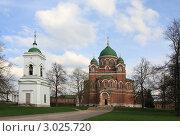 Купить «Бородино. Спасо-Бородинский женский монастырь», эксклюзивное фото № 3025720, снято 7 мая 2011 г. (c) ДеН / Фотобанк Лори