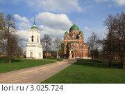 Купить «Бородино. Спасо-Бородинский женский монастырь», эксклюзивное фото № 3025724, снято 7 мая 2011 г. (c) ДеН / Фотобанк Лори
