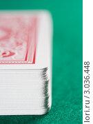 Купить «Колода игральных карт», фото № 3036448, снято 20 июня 2007 г. (c) Monkey Business Images / Фотобанк Лори