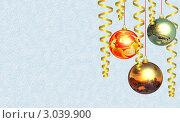 Новогодний фон. Стоковая иллюстрация, иллюстратор Алексей Романенко / Фотобанк Лори