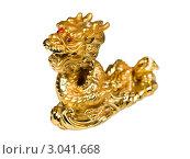 Купить «Золотой дракон», фото № 3041668, снято 9 октября 2011 г. (c) ElenArt / Фотобанк Лори