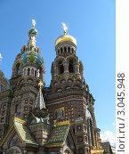 Купить «Храм Спас-на-Крови. Санкт-Петербург», фото № 3045948, снято 6 июля 2008 г. (c) Виктор Бученко / Фотобанк Лори