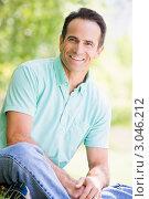 Купить «Мужчина средних лет (крупный план)», фото № 3046212, снято 30 июня 2007 г. (c) Monkey Business Images / Фотобанк Лори