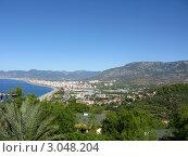 Купить «Средиземное море, горы. Аланья, Турция.», эксклюзивное фото № 3048204, снято 29 октября 2010 г. (c) Юрий Морозов / Фотобанк Лори