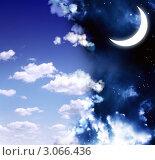 Купить «День и ночь», иллюстрация № 3066436 (c) Лукиянова Наталья / Фотобанк Лори