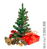 Новогодняя елка с подарками. Стоковое фото, фотограф Алина Анохина / Фотобанк Лори
