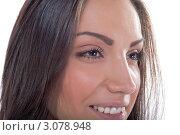 Женская улыбка. Стоковое фото, фотограф Евгений Липский / Фотобанк Лори