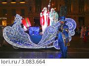 Купить «Всероссийский Дед Мороз в Петербурге», фото № 3083664, снято 25 декабря 2011 г. (c) Александр Тарасенков / Фотобанк Лори