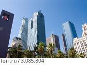 Даунтаун Лос-Анжелеса (2009 год). Стоковое фото, фотограф Екатерина Федорова / Фотобанк Лори