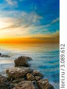 Спокойное море. Стоковое фото, фотограф Sviatoslav Homiakov / Фотобанк Лори