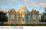 Купить «Павильон в Пушкинском парке, Санкт-Петербург», видеоролик № 3092688, снято 4 декабря 2011 г. (c) Михаил Коханчиков / Фотобанк Лори