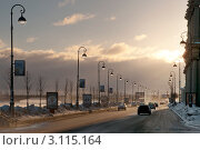 Купить «Набережная Макарова. Санкт-Петербург. Утро», эксклюзивное фото № 3115164, снято 24 марта 2011 г. (c) Александр Алексеев / Фотобанк Лори