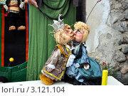 Выступление кукольника (2009 год). Редакционное фото, фотограф Владимир Доковски / Фотобанк Лори