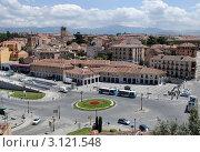 Сеговия, Испания. Вид на город. Стоковое фото, фотограф Татьяна Королева / Фотобанк Лори