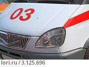 Купить «Машина скорой помощи», фото № 3125696, снято 8 июля 2011 г. (c) Сергей Яковлев / Фотобанк Лори
