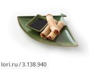 Свежее китайское национальное блюдо. Стоковое фото, фотограф Дина Гордиенко / Фотобанк Лори
