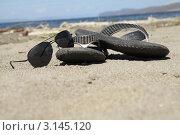 Пляжный набор. Стоковое фото, фотограф Ворошилова Анна / Фотобанк Лори
