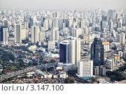 Купить «Вид на город Бангкок», фото № 3147100, снято 13 декабря 2011 г. (c) Роман Сигаев / Фотобанк Лори