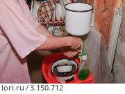 Купить «Сельский быт», эксклюзивное фото № 3150712, снято 7 июля 2010 г. (c) Алёшина Оксана / Фотобанк Лори
