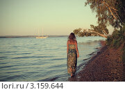 На закате. Стоковое фото, фотограф Валерия Нечаева / Фотобанк Лори