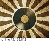 Купить «Винтажный музыкальный фон», иллюстрация № 3168812 (c) vlntn / Фотобанк Лори