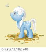 Купить «Стилизованная лошадка», иллюстрация № 3182740 (c) Анна Николаева / Фотобанк Лори