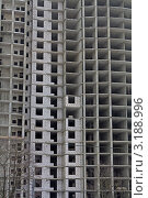 Строительство нового многоэтажного дома. Стоковое фото, фотограф Владимир Арефьев / Фотобанк Лори