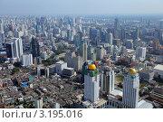 Вид на Бангкок с Bayok-Sky Hotel (2011 год). Стоковое фото, фотограф Диана Карлова / Фотобанк Лори