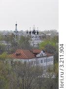 Дом Зворыкиных и Троицкий монастырь. Муром (2010 год). Стоковое фото, фотограф Горская Анна / Фотобанк Лори