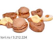 Сладкий шоколадный десерт. Стоковое фото, фотограф Светлана Полушкина / Фотобанк Лори
