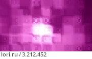 Розовый фон с квадратами. Стоковое фото, фотограф Елена Ерёменко / Фотобанк Лори