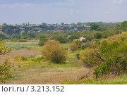 Купить «Сельский пейзаж. Дельта реки Дон», фото № 3213152, снято 21 мая 2011 г. (c) Иван Сазыкин / Фотобанк Лори