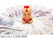 Купить «Сколько денег нужно на ребенка?», эксклюзивное фото № 3230964, снято 7 февраля 2012 г. (c) Куликова Вероника / Фотобанк Лори