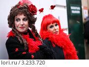 Красивые женщины на карнавале (2011 год). Редакционное фото, фотограф Перевалова Ольга Геннадьевна / Фотобанк Лори