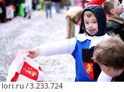 Ребенок на карнавале (2011 год). Редакционное фото, фотограф Перевалова Ольга Геннадьевна / Фотобанк Лори