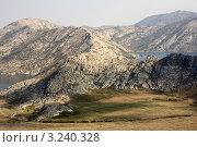 Алтай. Озёра в горах. Стоковое фото, фотограф Александр Морозов / Фотобанк Лори
